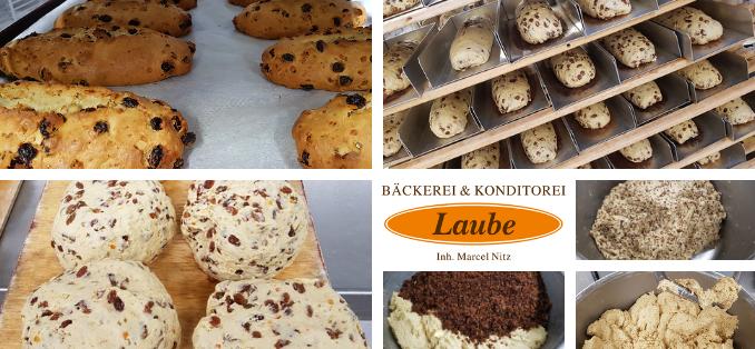 Stollen Online Shop Bäckerei & Konditorei Laube